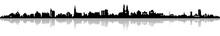 Skyline Einer Stadt