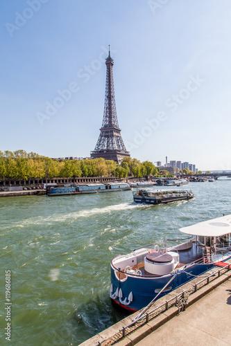 Fotografia  La senna e la Tour Eiffel