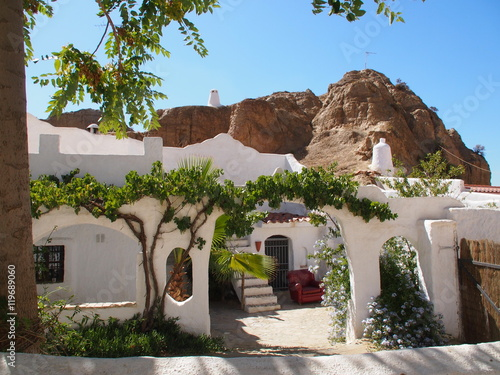 Guadix cave house, Andalusia