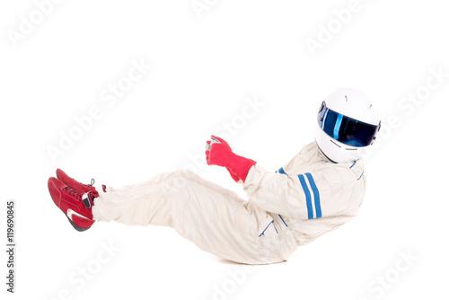 Foto op Plexiglas F1 race car driver