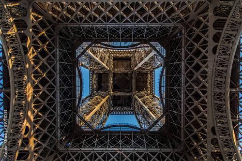 Poster Artistique Torre Eiffel, Parigi - Francia