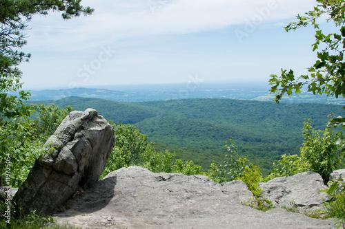 Fotografía  Landscape of Annapolis rock, in Maryland