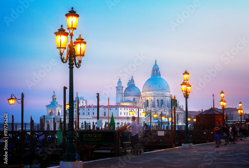 Foto  Grand canal, Venice, Italy