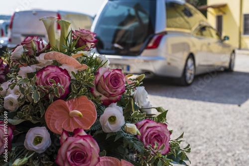 Photo  Composizione funebre