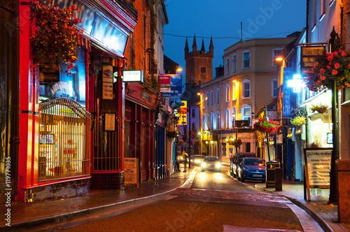 Fotografie, Obraz  Nightlife in Ennis, Ireland
