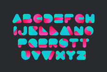 Twisted Font Vector Design. Ty...