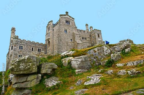 Fotografie, Obraz  Saint Michael's Mount / Cornwall, Südengland