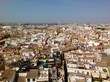 Aussicht auf Sevilla von der Giralda, Kathedrale von Sevilla
