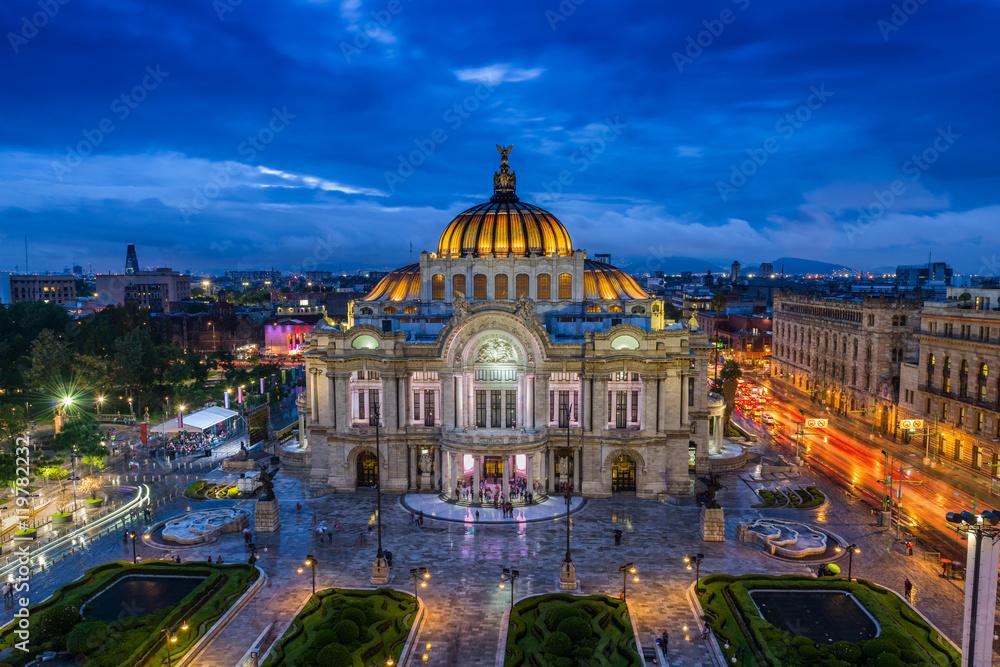 Fototapety, obrazy: Palacio de Bellas Artes