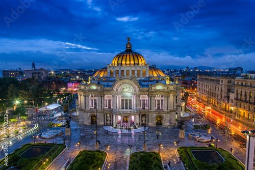 Mexique Palacio de Bellas Artes