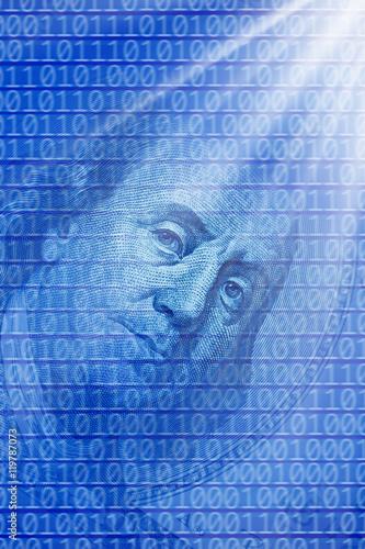 Fotografie, Obraz  global finance