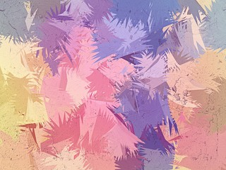 FototapetaVariety pastel color brush abstract background
