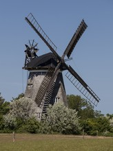 Windmill In Benz On The Island Of Usedom, Germany