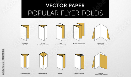 internetional paper flyer formats folds vol 2 buy this stock