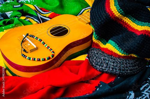 reggae background Fototapeta