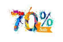 Seventy (70) Percents Sale