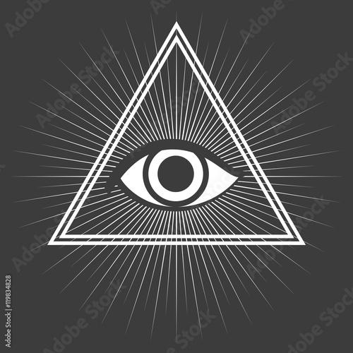 Fotografia, Obraz  Freemason symbol