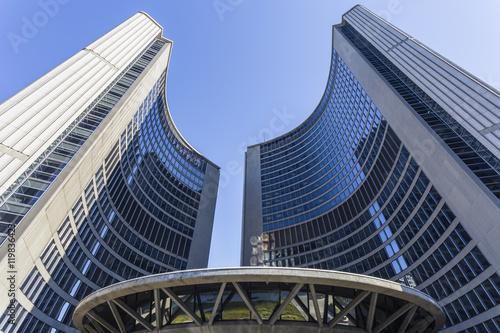 Deurstickers Toronto City Hall