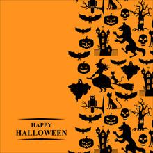 Halloween Greeting Card Vertic...