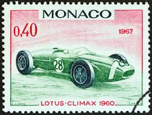 Lotus-Climax Grand Prix Racing Car Of 1960, Winner Of Monaco Grand Prix (Monaco 1967)