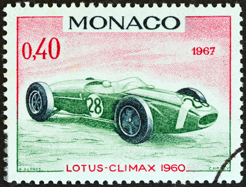 Fotografía  Lotus-Climax Grand Prix racing car of 1960, winner of Monaco Grand Prix (Monaco