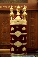 Torah Scrolls In The Synagogue