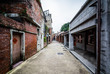 Street at the Bopiliao Historical Block, in the Wanhua District,