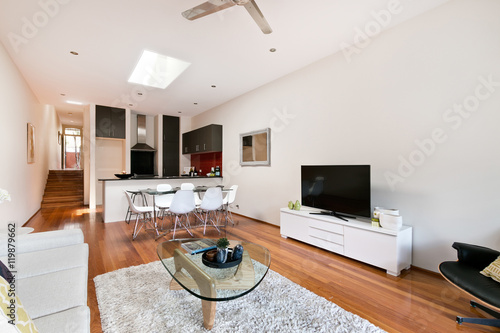 Foto op Plexiglas Trappen Beautiful Living room