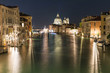 Venise grand canal de nuit santa maria della salute
