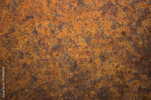Poster Metal Rusty metal / Rusty and battered metal background