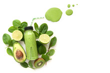 Green Smoothie With Space
