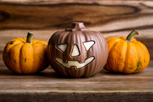 Pumpkins And Chocolate Pumpkin...