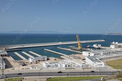 Foto op Canvas Stadion Port de Tanger, Maroc