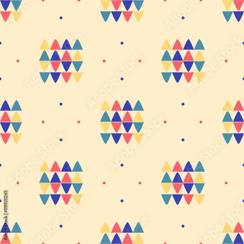 Tapety Minimalistyczne geometryczny-bezszwowy-wzor-etniczna-tkanina