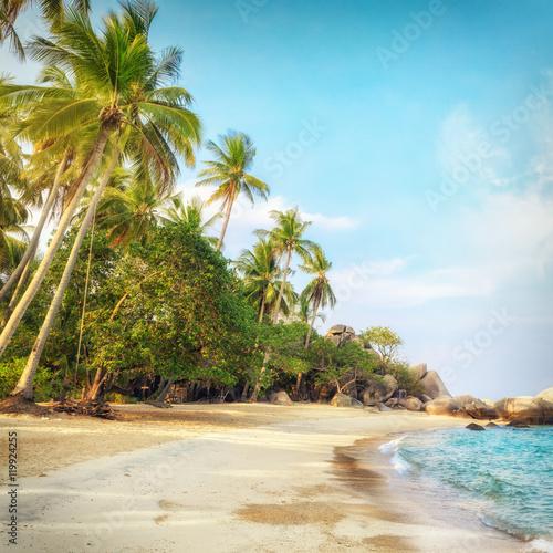 Deurstickers Tropical strand Asian tropical beach paradise