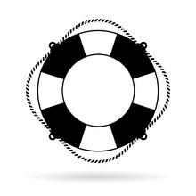 Life Preserver Ring Icon
