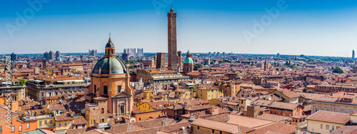cityscape of Bologna Canvas