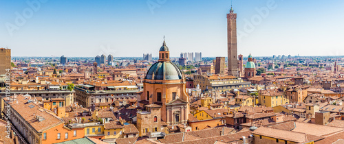 cityscape of Bologna Wallpaper Mural