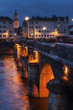Pont De Verdun In Angers