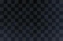 市松模様和紙-黒