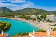Beautiful seaside of Canyamel Majorca beach Spain