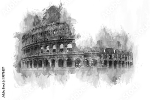 malowana-akwarela-koloseum