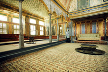 Throne Of Sultan In Topkapi Pa...