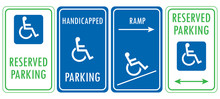 Handicapped Reserved Parking S...