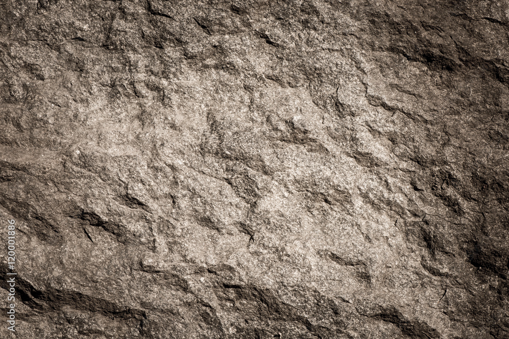 Fototapety, obrazy: Stone background, rock wall backdrop with rough texture. Abstract, grungy and textured surface of stone material. Nature detail of rocks.