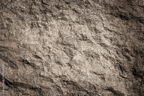 Fototapeta Stone background, rock wall backdrop with rough texture