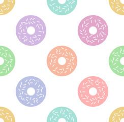 Tapeta Doughnut pattern