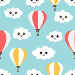 Tapeta Flying air balloons