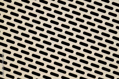 Fotografie, Obraz  Lochblech als Verkleidung für die Fassade eines Parkhauses