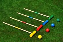 Juego De Croquet Alineado